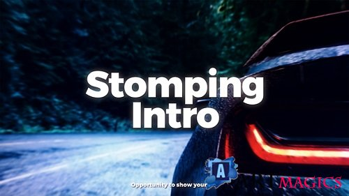 Stomping Intro - Project for After Effects (Videohive)