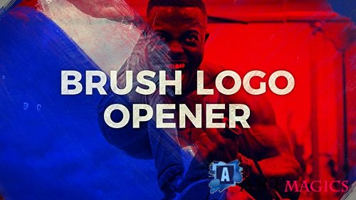Brush Logo Opener - Project for After Effects (Videohive)