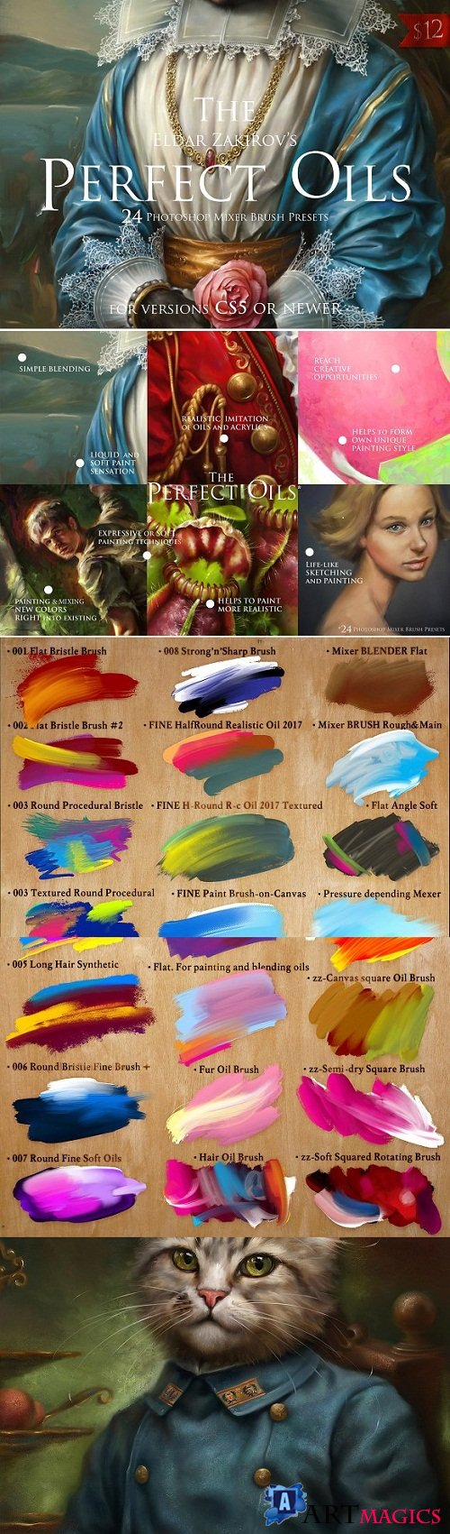 The Perfect Oils, MixerBrush Presets 1929290