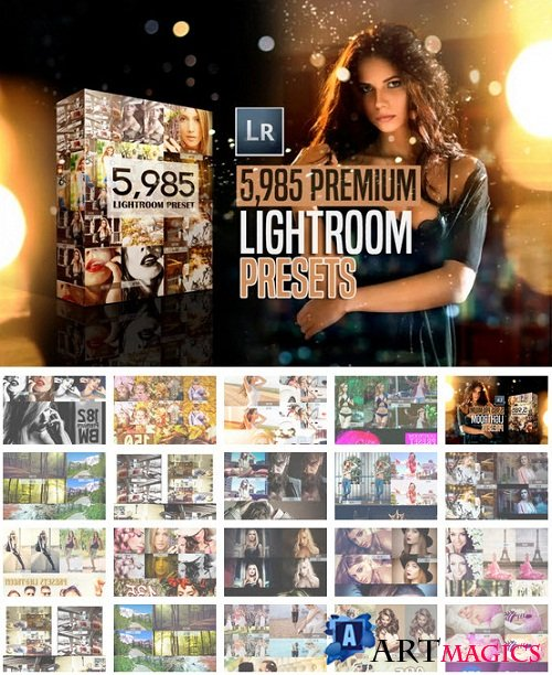 Mega bundle 5900+ Premium Lightroom Presets