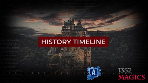 History Timeline Slideshow 139592 - After Effects Templates