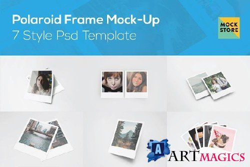 Polaroid Frame Mock-Up 3248197