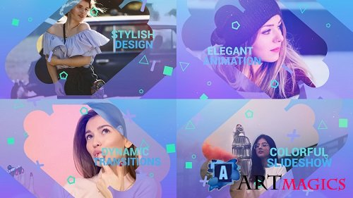 Colorful Slideshow 134480 - After Effects Templates