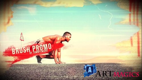 Brush Promo 140829 - After Effects Templates