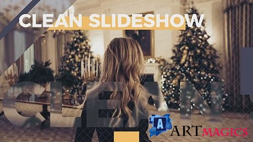 Clean Slideshow 160706 - After Effects Templates