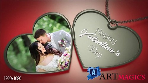 3D Heart Necklace 162155 - After Effects Templates