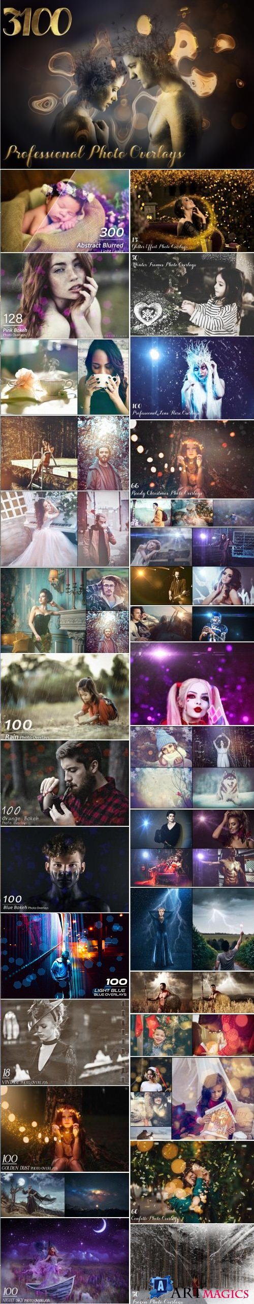 3108 Professional Photo Overlays - 3520485