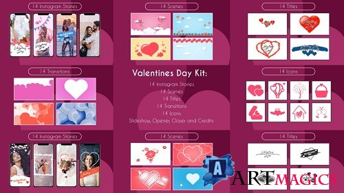 Valentine Kit 172256 - After Effects Templates