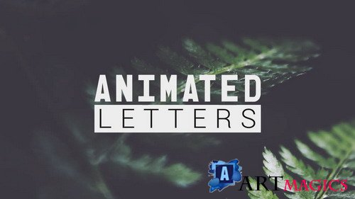 Animated Letters & 10 Titles Layout - Project for After Effects(Videohive)