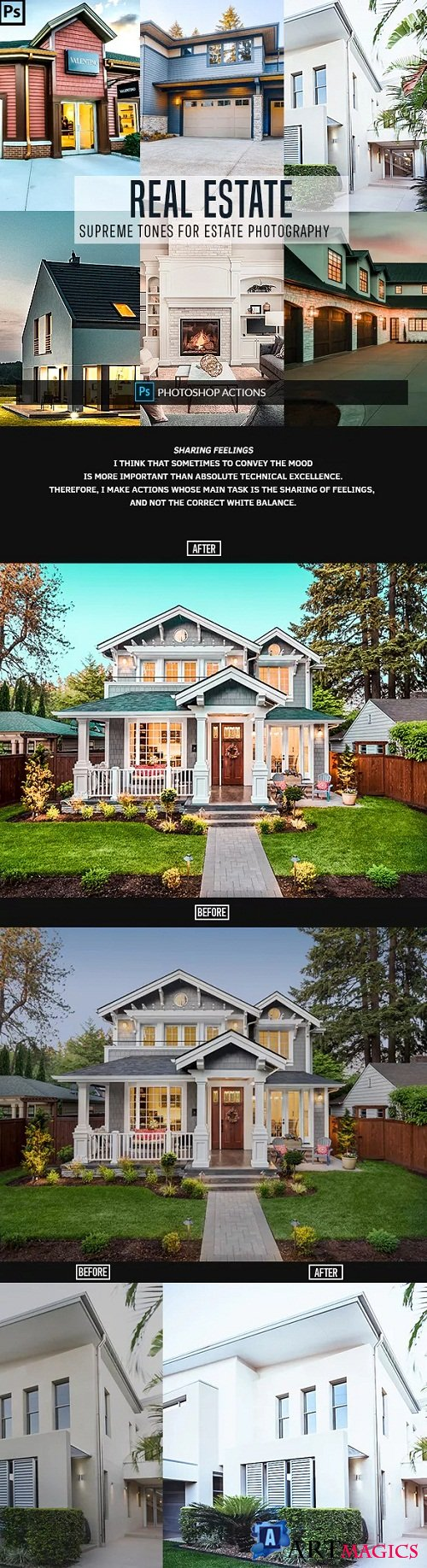 Real Estate Photoshop Actions 23152813