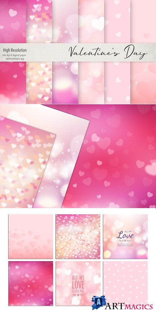 Valentine's Day Backgrounds - 105561