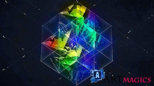 3D Magic Cube Logo Reveal - After Effects Templates