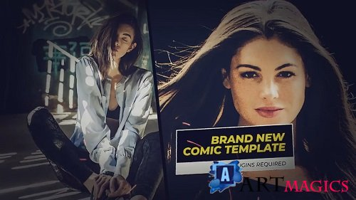 Comics Trailer - After Effects Templates