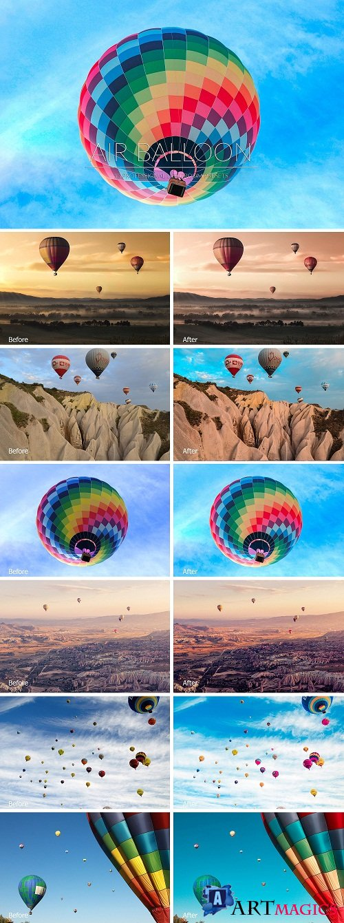 Air Balloon Lr Presets - 3405473