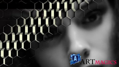 Hexagon Transitions - After Effects Templates