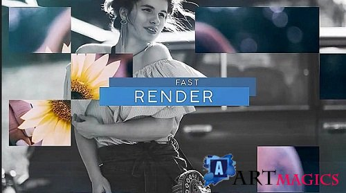 Upbeat Slideshow - After Effects Templates