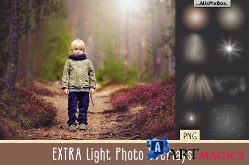 Extra Light PNG Photo Overlays 3586583
