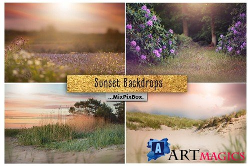 Sunset Backdrops - 3618305