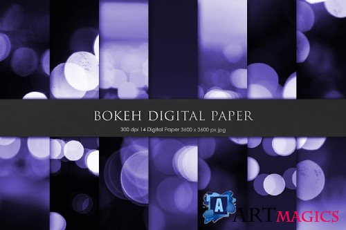 Purple Bokeh Backgrounds - 2283258