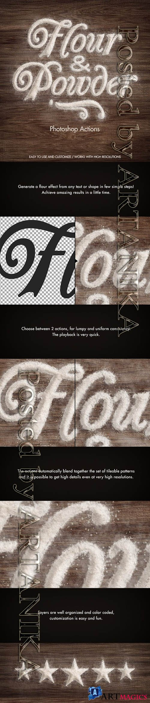 Flour & Powder - Photoshop Actions 6712507