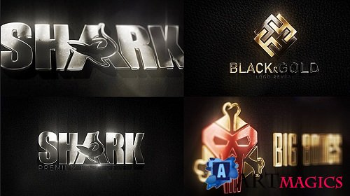 3D Metal Logo 215300 - After Effects Templates