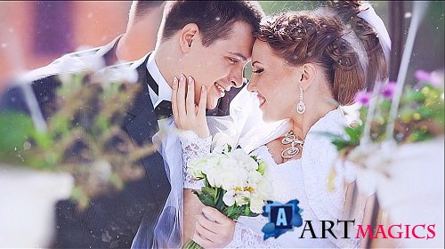 Wedding Parallax Slideshow - Project ProShow Producer