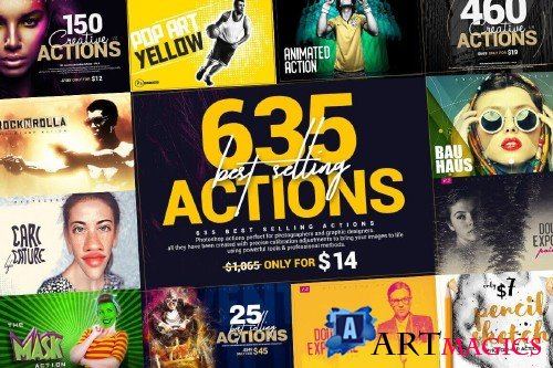 InkyDeals - 635 Best Selling Actions Bundle