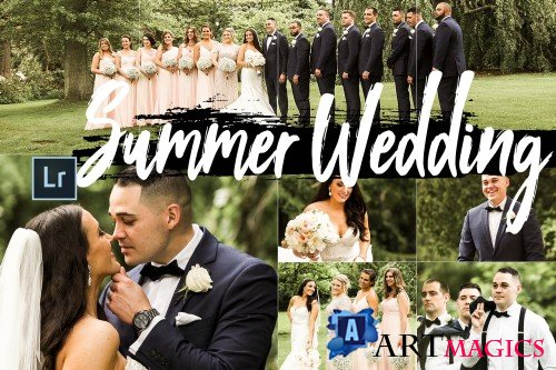 Neo Summer Wedding Theme Desktop Lightroom Presets - 266996