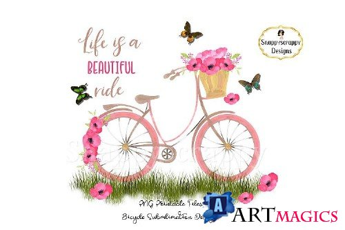 Summer Bicycle Sublimations - 274621