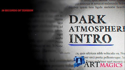 Taku - Dark Atmospheric Intro 249499 - After Effects Templates