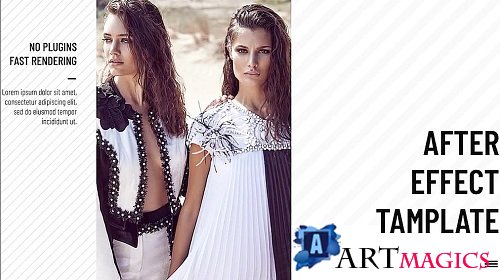 Fashion Slideshow 250225 - After Effects Templates