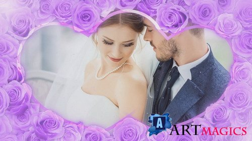 Проект ProShow Producer - Wedding Rose - Purple