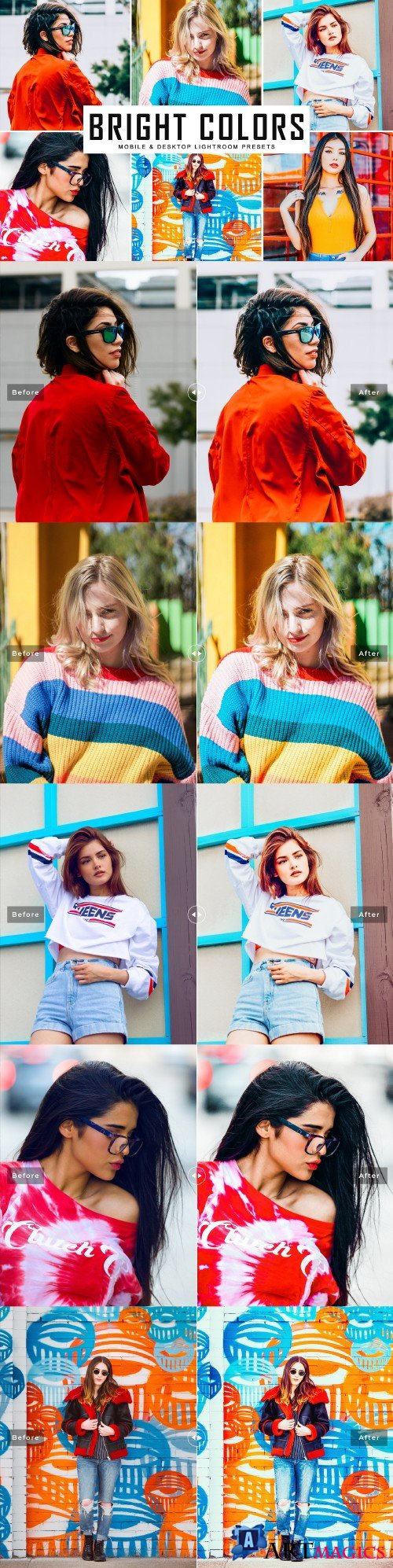 Bright Colors Lightroom Presets - 3967258