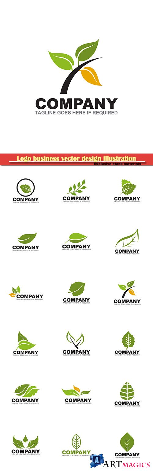 Logo business vector design illustration # 121