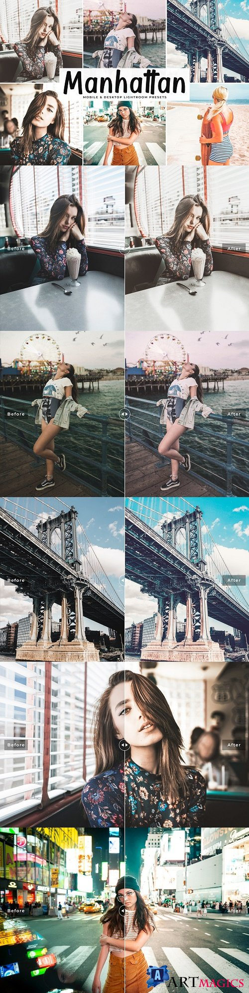 Manhattan Pro Lightroom Presets - 3884860