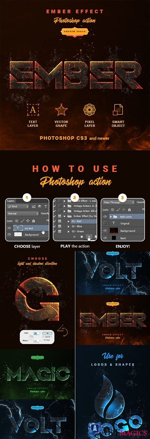 Ember Effect - Photoshop Action 24195902