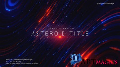 Asteroid Cinematic Title - Project for After Effects (Videohive)