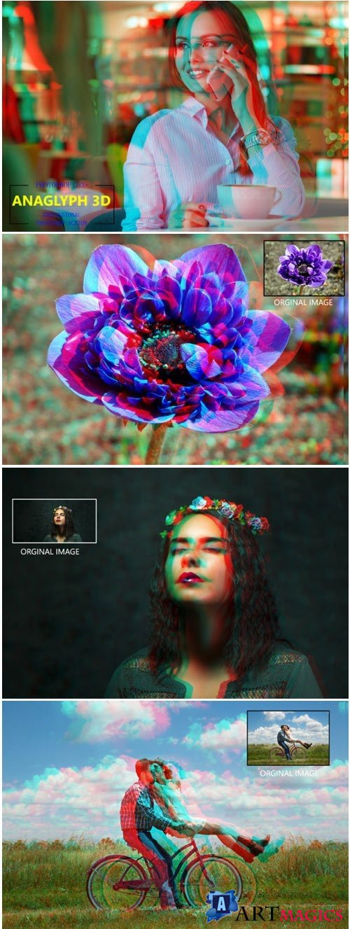 Anaglyph 3D - Photoshop Action 1760822 3900097