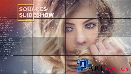 Проект ProShow Producer - Squares Slideshow