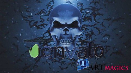 Skull Logo - After Effects templates