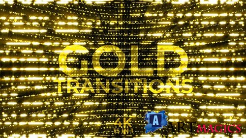 Videohive - Gold Transitions - 24996527