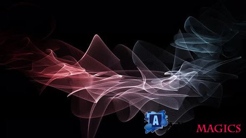 Videohive - Line Background In Motion - 24990519