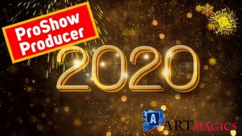 Проект ProShow Producer - New Year Countdown 2020
