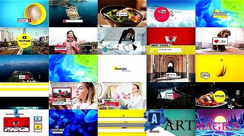Creative YouTube Pack 325337 - After Effects Templates