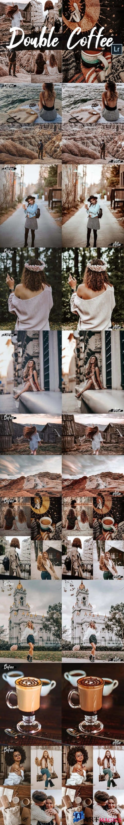 05 Double Coffee Lightroom Presets and ACR preset - 428281