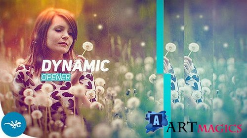 Fast Dynamic Opener 17757277 - Project for After Effects (Videohive)