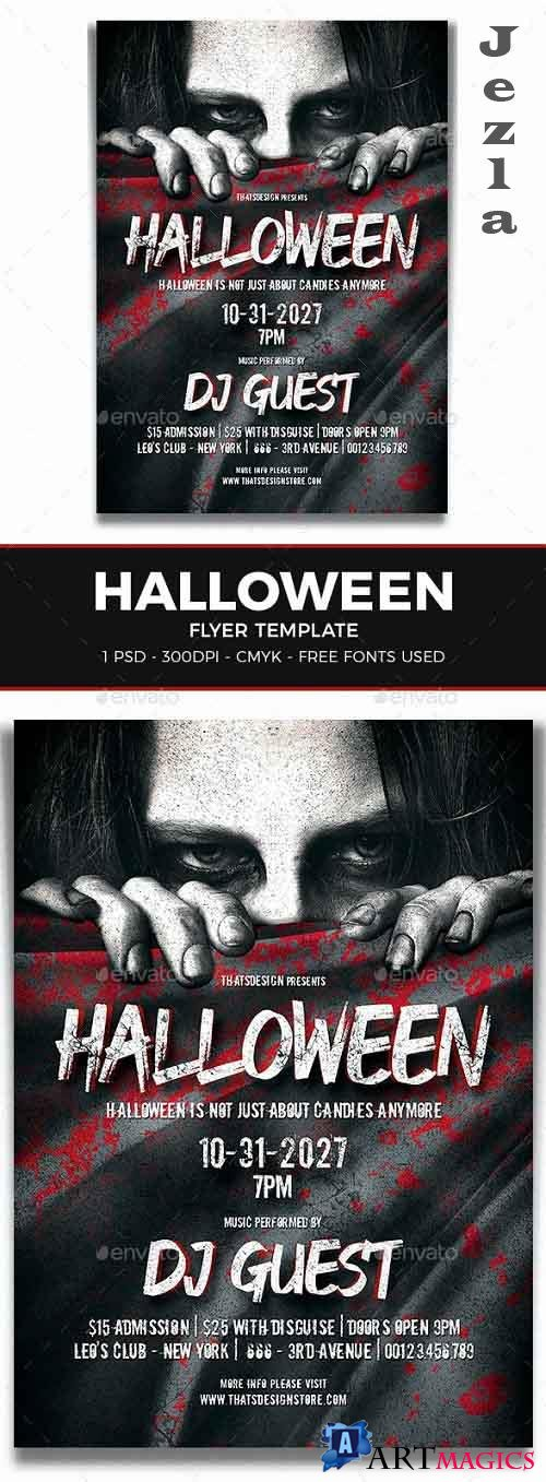 Halloween Flyer Template V5 - 8546869 - 91522
