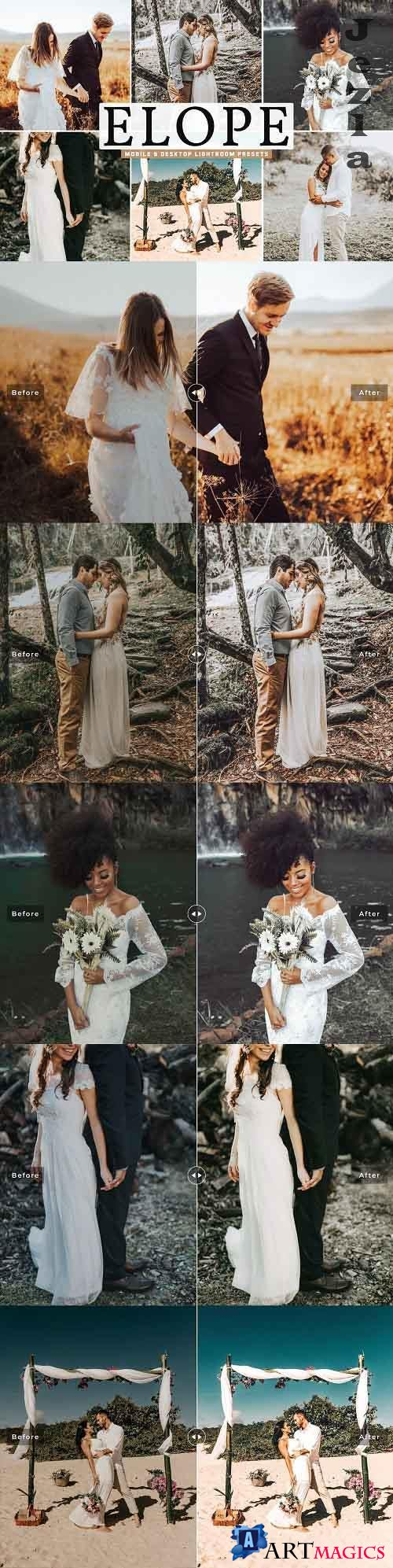 Elope Pro Lightroom Presets - 5297452 - Mobile & Desktop