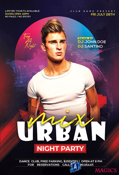 Urban Club - Premium flyer psd template