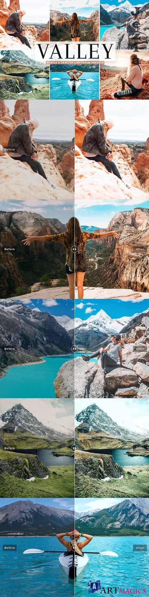 Valley Pro Lightroom Presets - 5353825 - Mobile & Desktop